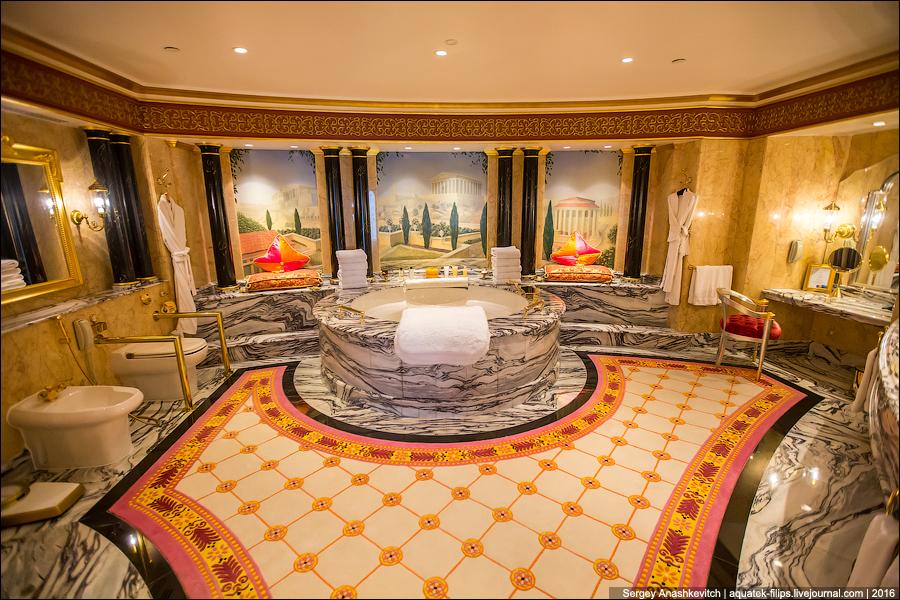 Королевский номер Burj Al Arab