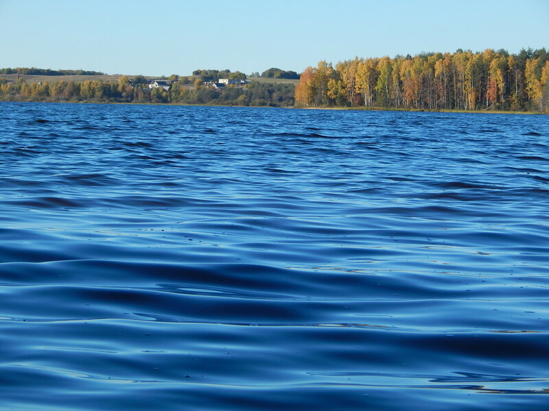 Волга голубая