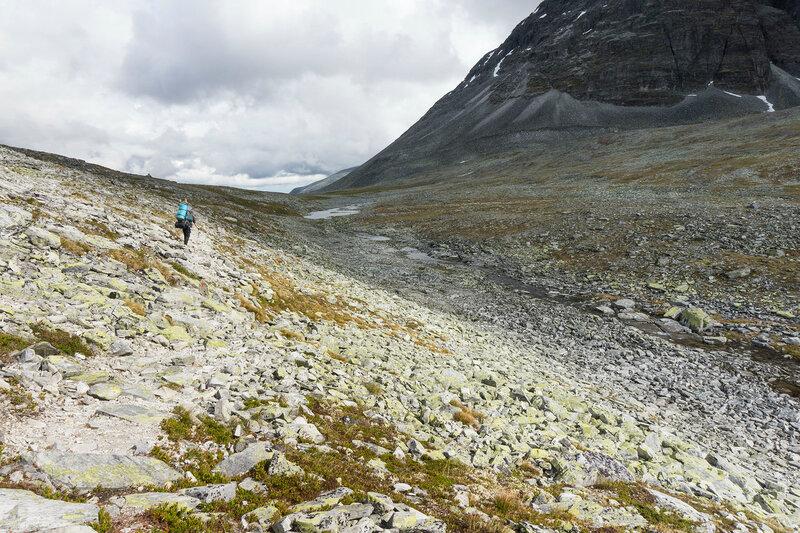 пейзаж в горах в Рондане (Rondane), Норвегия