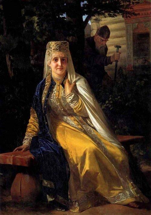 Василиса Мелентьева и Иван Грозный 1880-е. Государственный музей Абрамцево