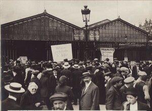 1914. Восточный железнодорожный вокзал Парижа