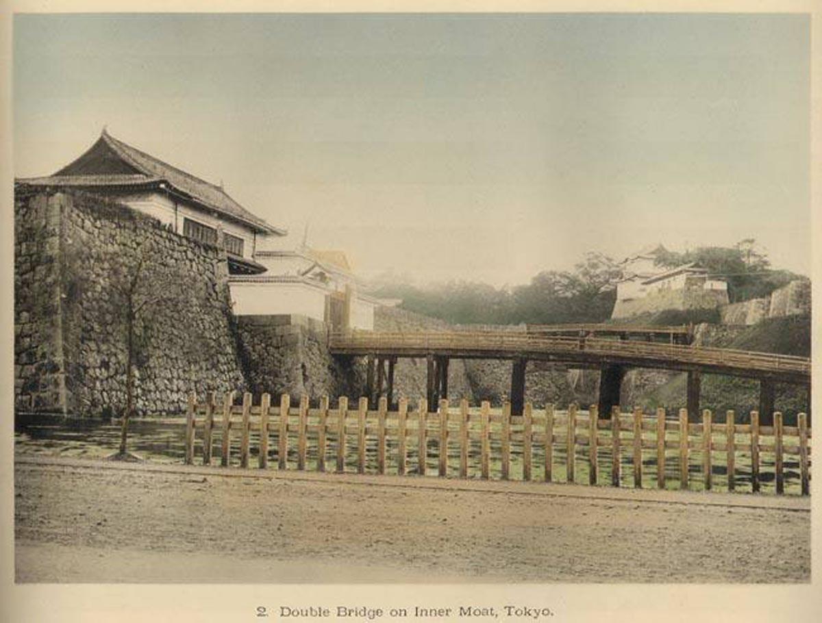 Токио. Два моста через внутренний ров