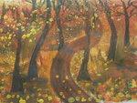 """Якимов Иван (рук. Горшкова Елена Павловна) - """"Осень в парке"""""""