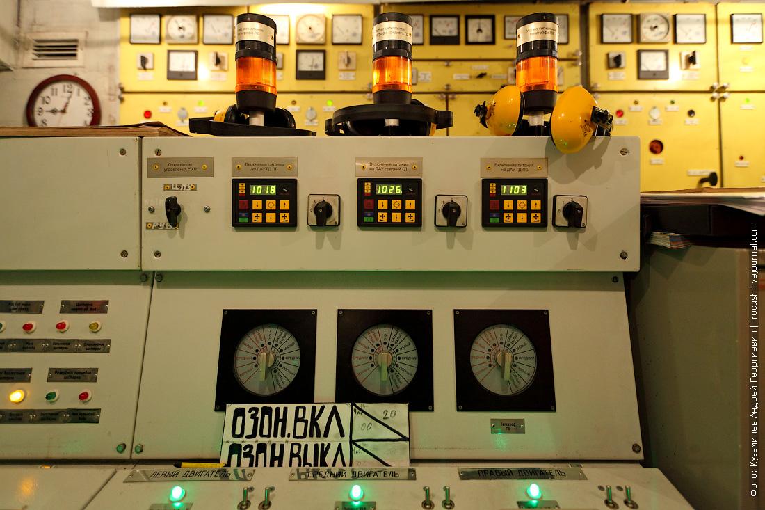 центральный пост управления МКО фото теплоход Русь Великая
