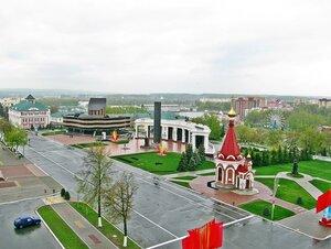 Площадь Победы. Саранск, Мордовия
