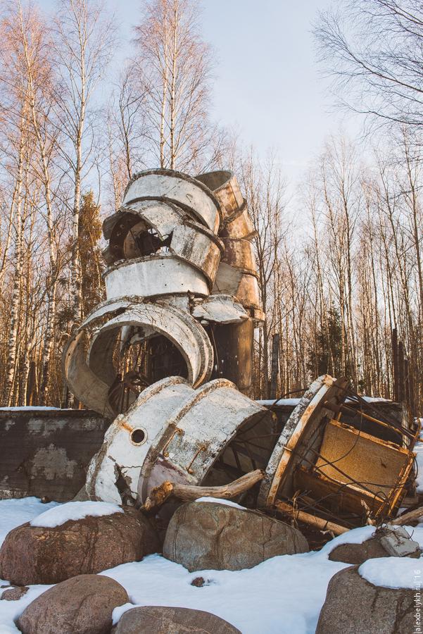 alexbelykh.ru, разрушенный маяк Черная лахта