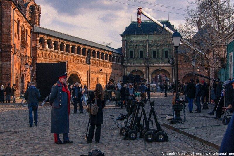 Остатки Симонова монастыря -