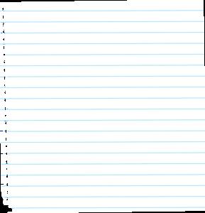 notebook sheets
