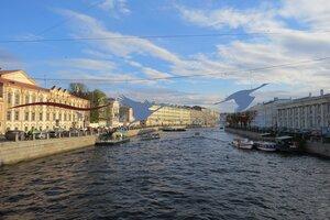 Достопримечательности Санкт-Петербурга: река Фонтанка