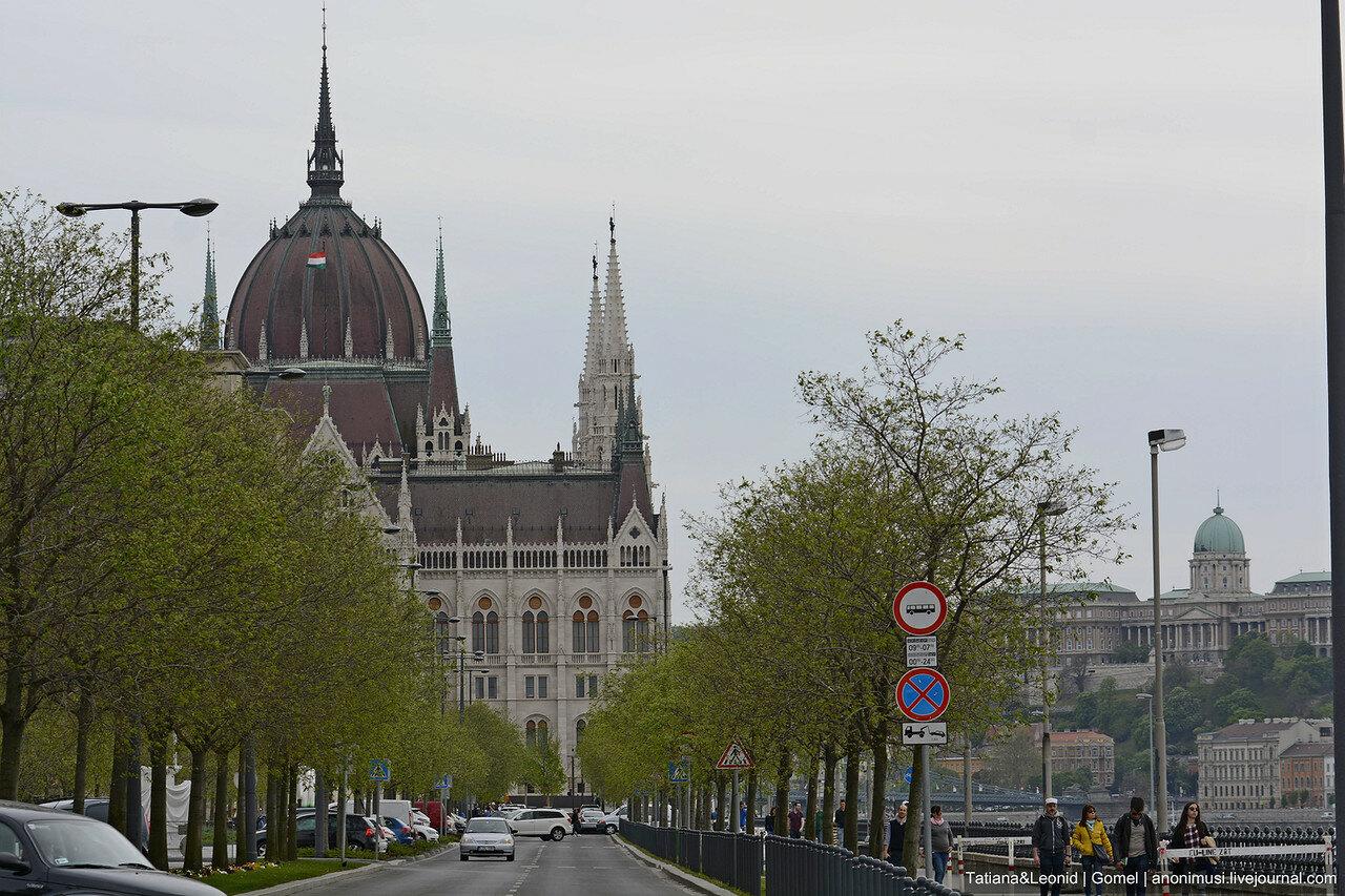 Утренний Будапешт
