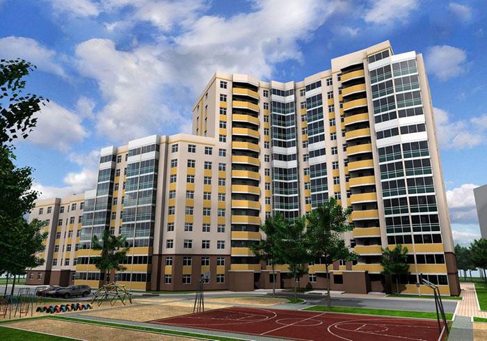 Строительство жилых домов и социальных объектов