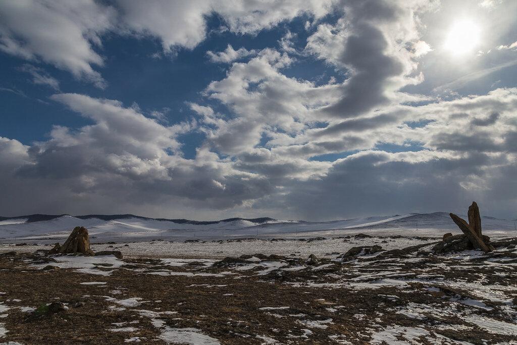 Ольхонский пейзаж
