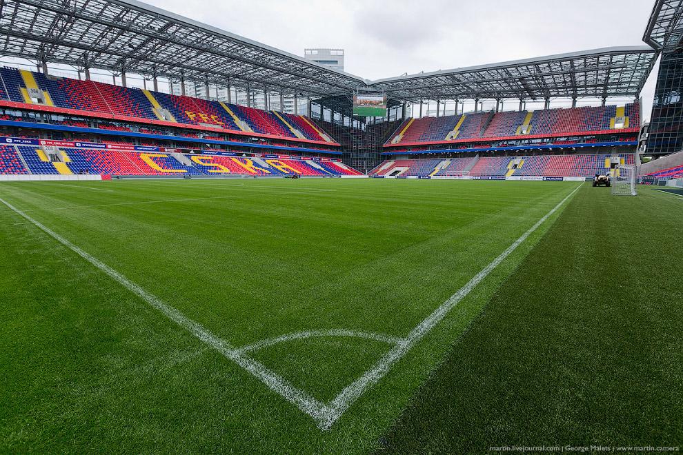 3. Все монолитные работы на стадионе уже завершены, осталось провести отделочные работы некотор