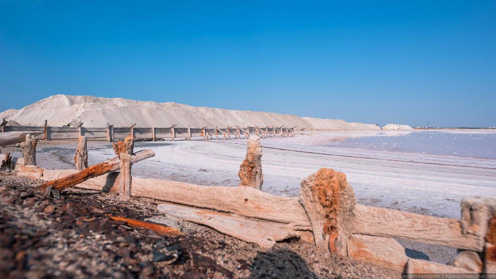 40. Уже второй год в России добывают розовую соль. В 2015 было получено 18 тысяч тонн. В этом г