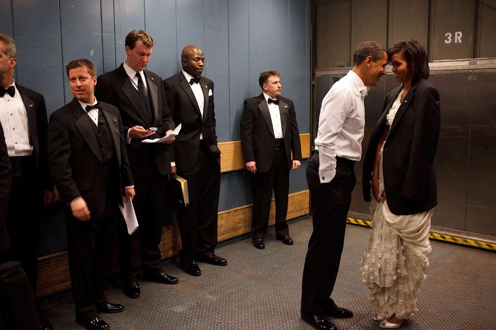 5. 3D-фильм. В Белом доме есть свой кинотеатр, 1 февраля 2009. (Фото Pete Souza | The White Hou