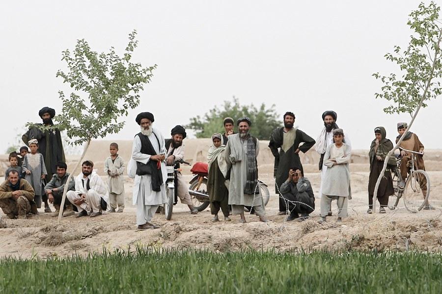 Афганистан и американский солдат: