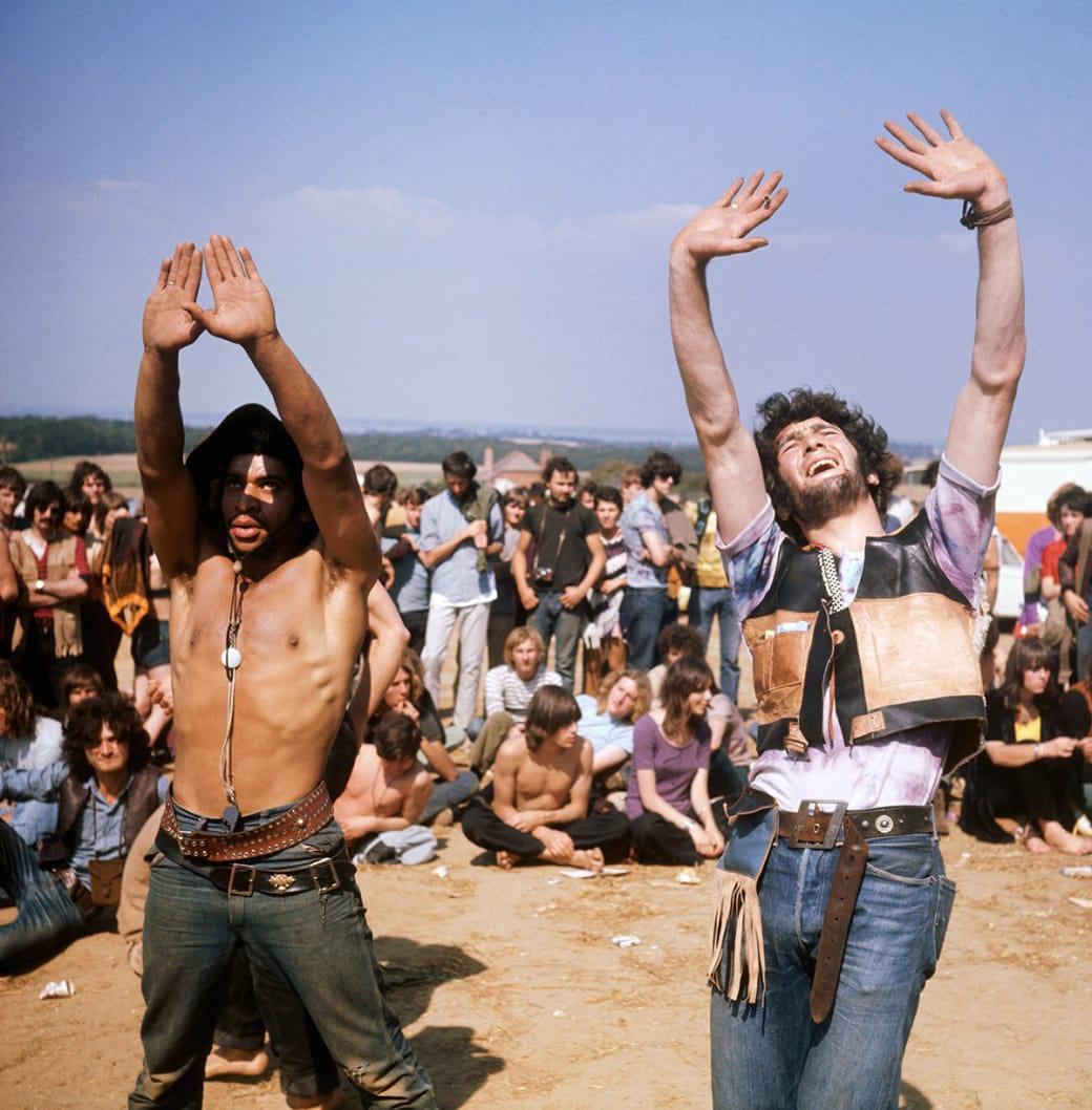 Фестиваль Isle of Wight, 1969 год. Фото: Keystone / Getty Images.