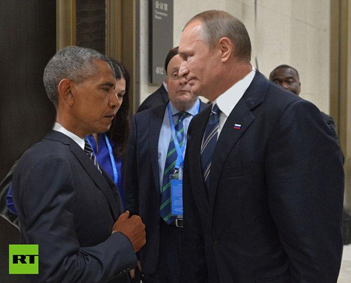 Встреча глазами российского телеканала.