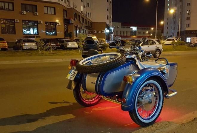 Dnepr Vintage отличаются особым дизайном и яркой двухцветной окраской (предложены на выбор несколько