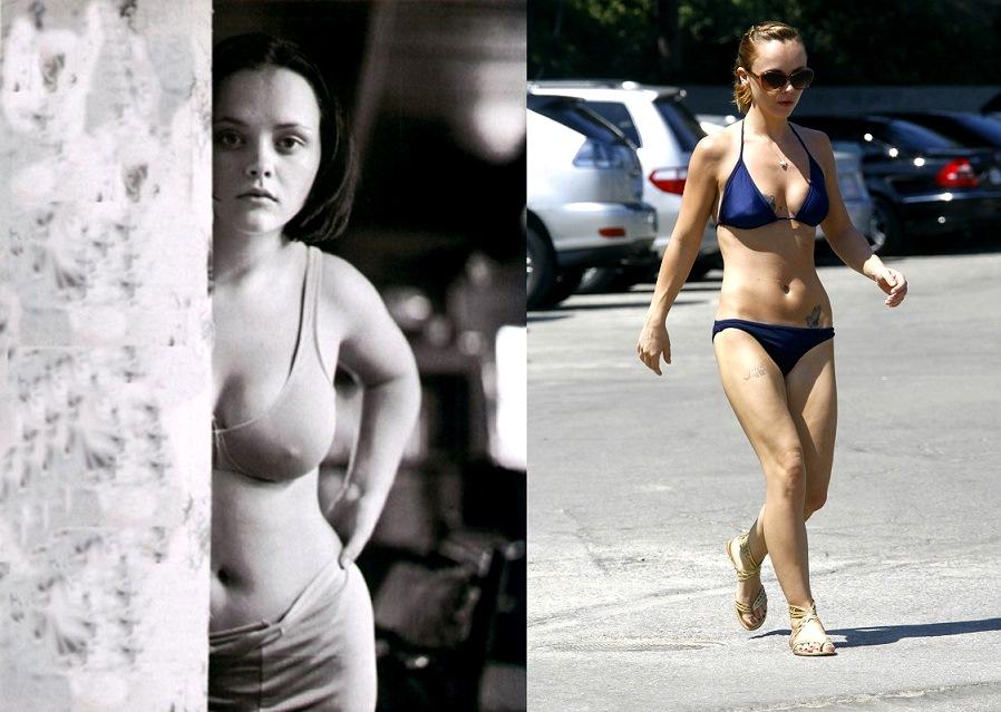 Кристина, известная прежде всего по роли в комедии «Семейка Аддамс», решилась уменьшить грудь в нача