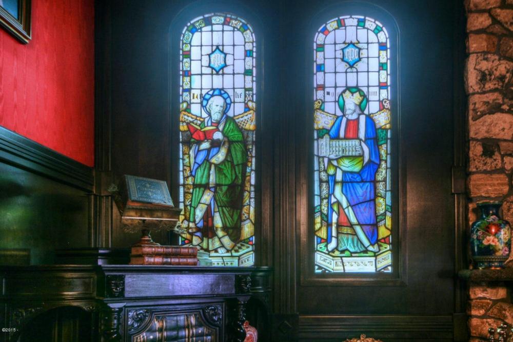 Вовремя Второй мировой войны витражи изланкастерского кафедрального собора были вывезены изродног