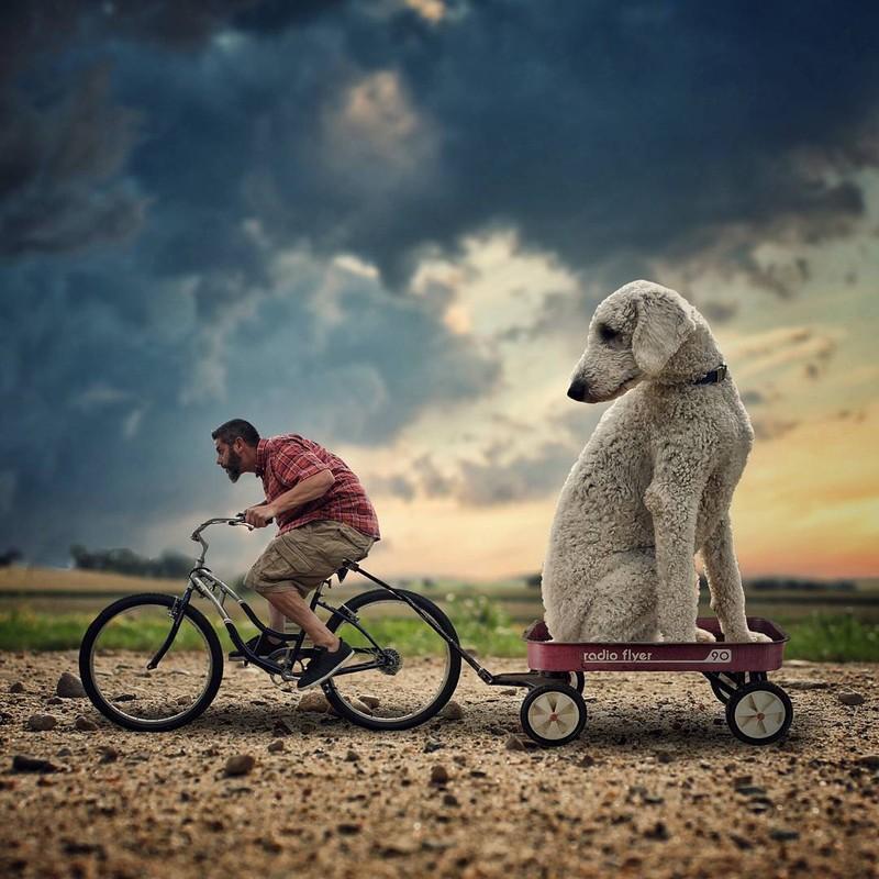 Крути-крути педали И почему мы так медленно едем?