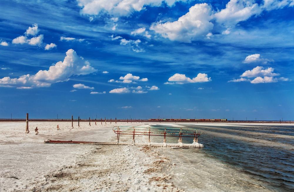 Внастоящее время чрезвычайно чистая соль озера составляет до80% отобщей добычи соли вРоссии. Ви