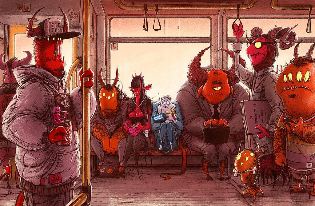 Иллюстрации Михала Дзекана