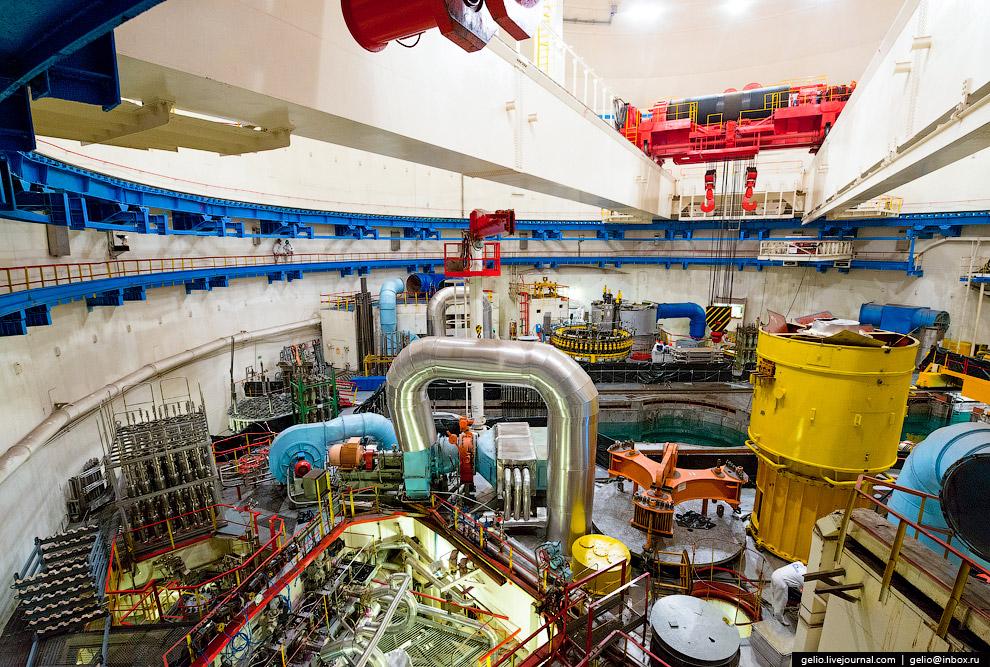 9. Спускаемся к реактору. На Балаковской АЭС используется модернизированный серийный ядерный ре