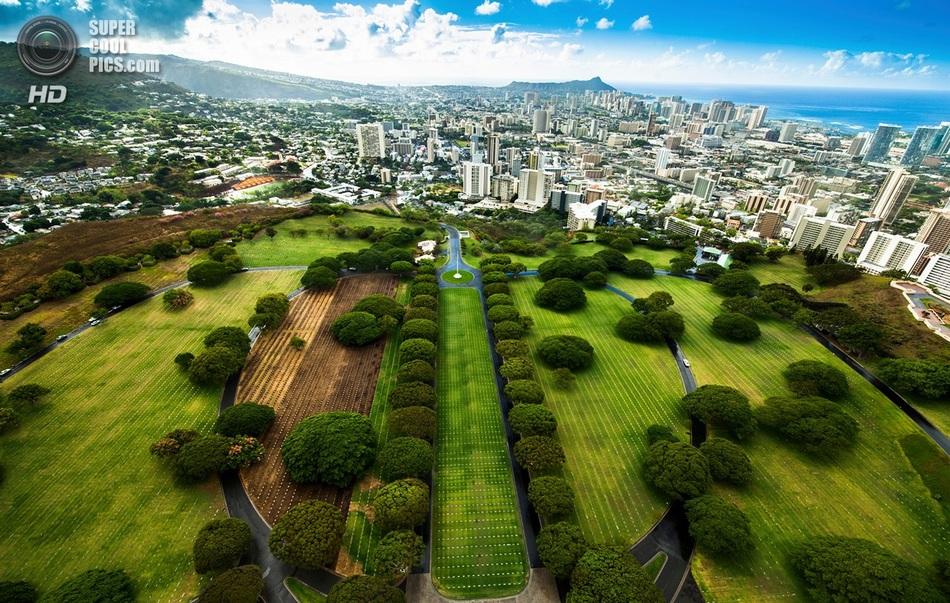 10 снимков великолепных Гавайских островов с высоты птичьего полета