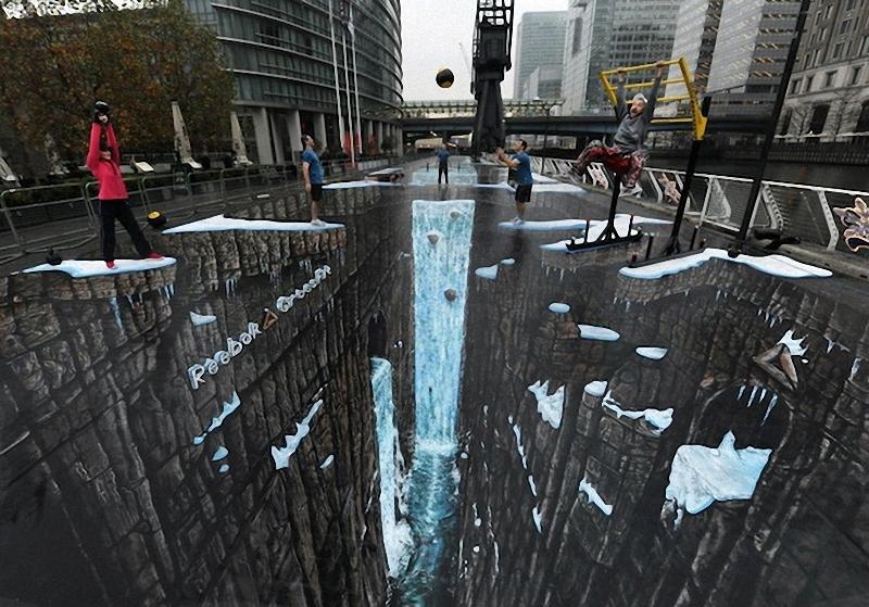 17 ноября дуэт художников из Лондона 3D Joe and Max установил рекорд Гиннесса за самый большой уличн