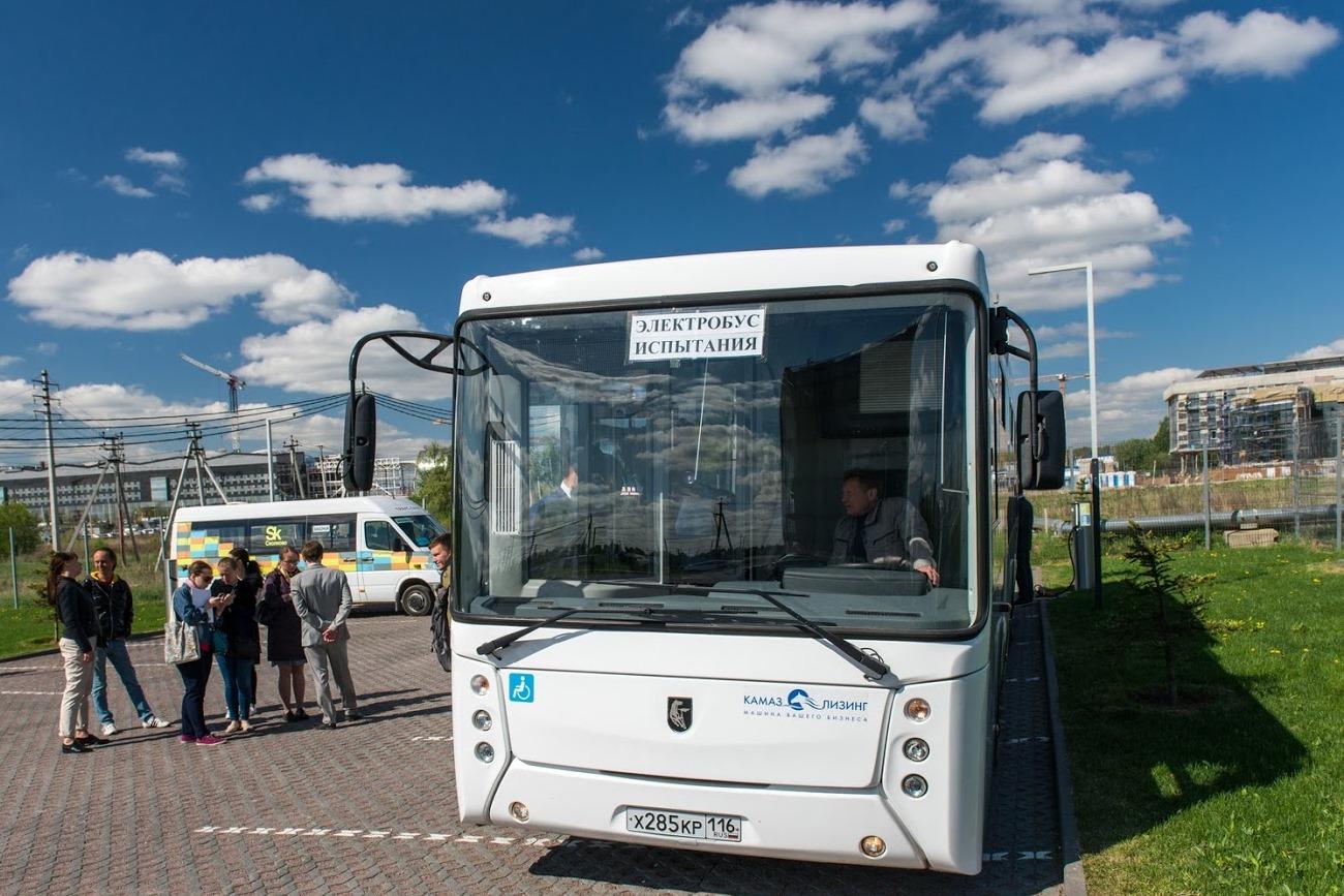 В столице России запустили электробус русского производства