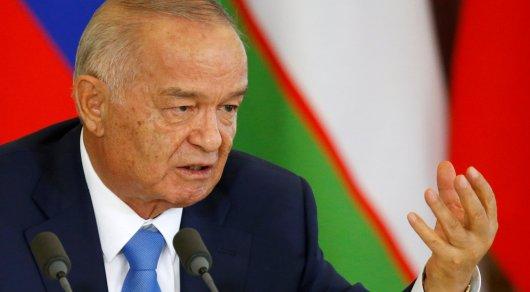 Намогилу Каримова прилетел Путин