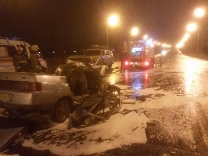 ВДТП наДобрынинском мосту погибли трое