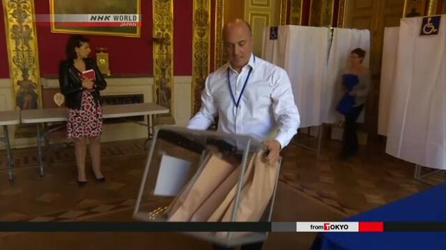ВоФранции открылись участки для голосования навыборах президента
