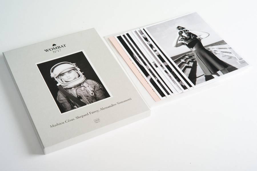 N°17 - Mathieu Cesar, Shepard Fairey, Alessandro Simonetti by WombatParis.