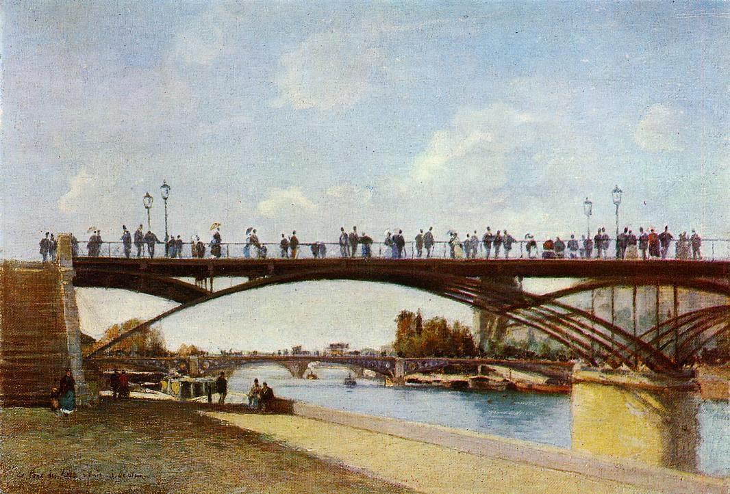 5 Stanislas_Lepine_-_Le_Pont_des_Arts,_Paris.jpg