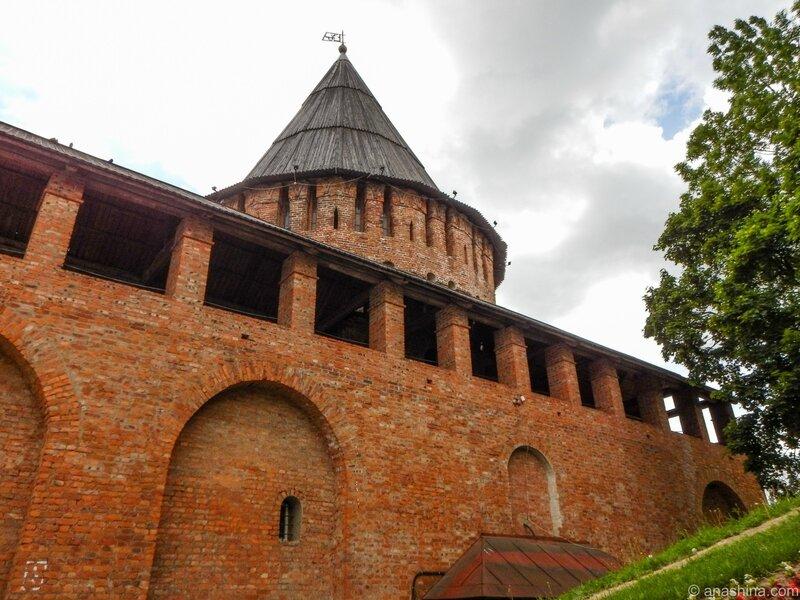 Громовая башня, Смоленск, Смоленская крепость