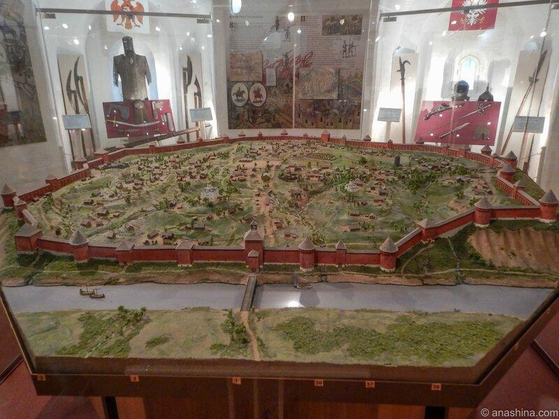 Модель-реконструкция Смоленской крепости