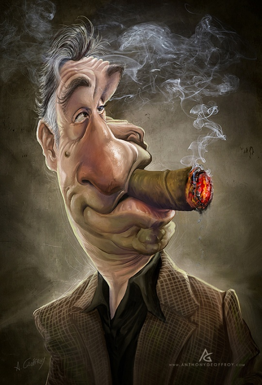 Stunning Caricature Illustrations by Anthony Geoffroy