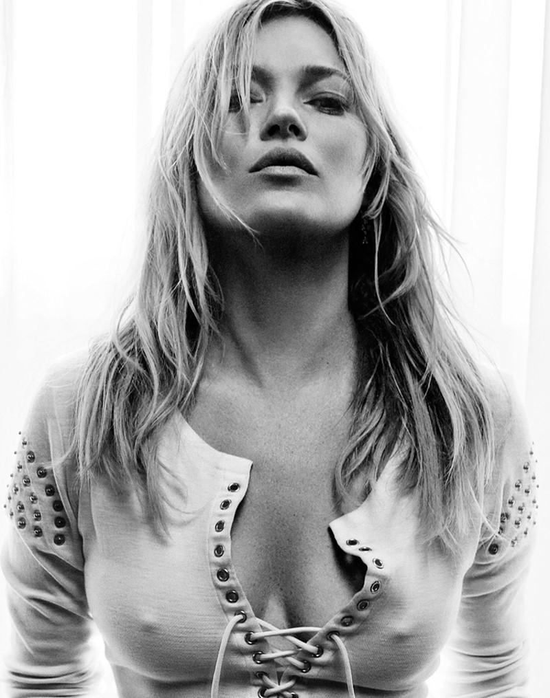 Кейт Мосс Vogue UK (май 2016) фото 2