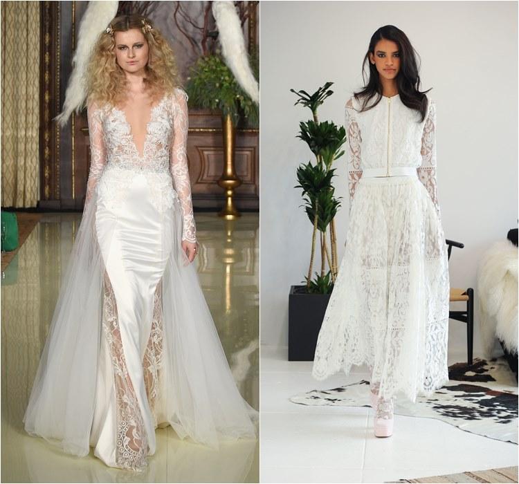 Кружевные свадебные платья 2016 фото 5