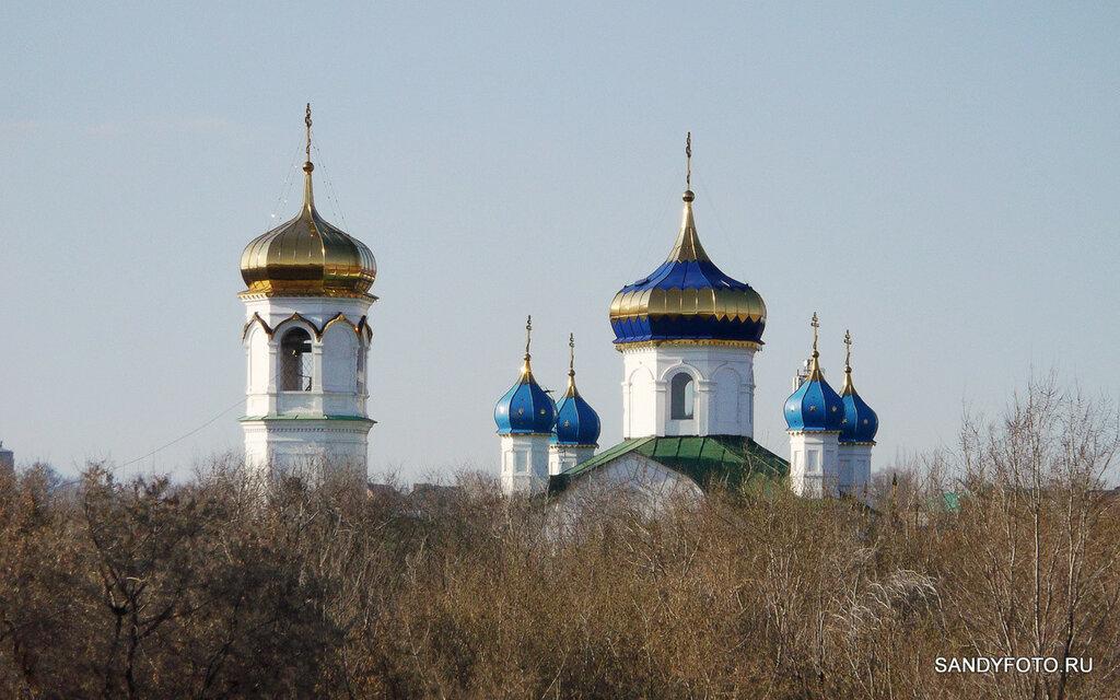 Купола Храма Божьего