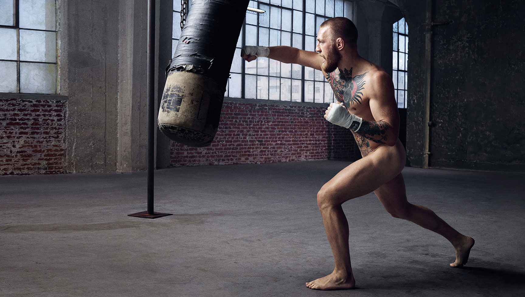 ESPN Magazine The Body Issue 2016 - Conor McGregor / Конор Макгрегор - Культ тела журнала ESPN