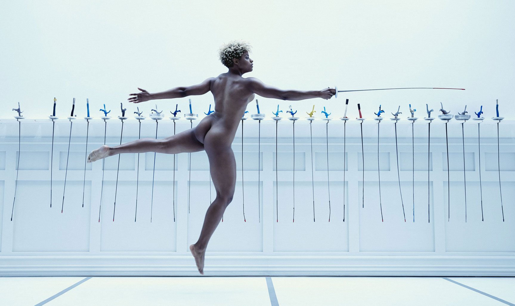 ESPN Magazine The Body Issue 2016 - Nzingha Prescod / Нзинга Прескод - Культ тела журнала ESPN