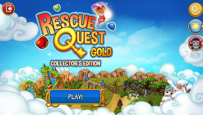 Rescue Quest Gold Collectors Edition