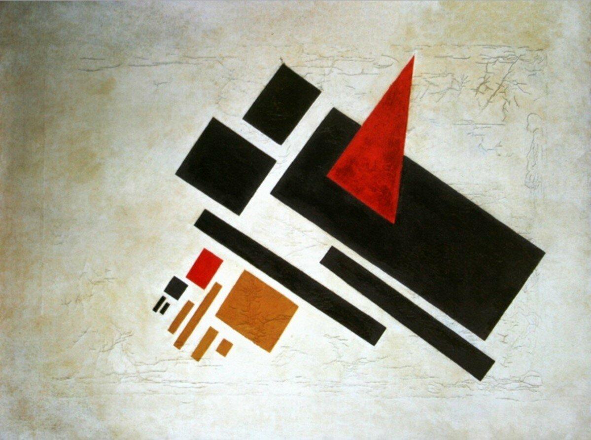 1922-1923. Суетин Николай. «Супрематизм»