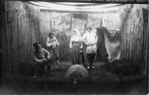 1915. Сцена из спектакля
