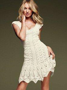 Сексуальная нежность в платье от Victoria's Secret