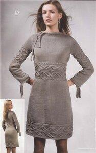Платье к весне:Арановая краса-светлая коса